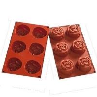 1346 Силиконовая форма «Цветок розы»