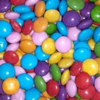Драже сахарное «Конфетти разноцветные с шоколадом»