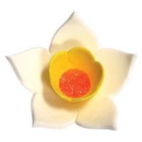 Сахарное украшение «Нарцисс белый»
