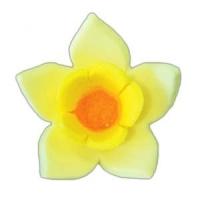 Сахарное украшение «Нарцисс желтый»