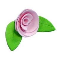 Сахарное украшение «Роза розовая»