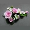 11941 B Цветы из мастики «Розы розовые»