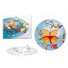 13030 Вафельные пластины «Бабочка» (объемные)