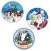14937 Вафельные пластины «Дед Мороз»