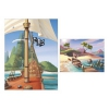 25235 Вафельные пластины «Пиратский корабль»