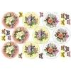 25801 Вафельные пластины «Цветы»