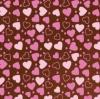 81793 Переводилка-пленка на шоколад «Сердце»
