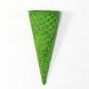 88175 Вафельный рожок 110 зеленый ровный край