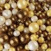Драже зерновое «Жемчуг» бронза, желтый, серебро (204)