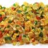 Цукаты. Фрукты и плоды засахаренные разноцветные