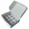 Короб картонный под 12 капкейков (330х250х100)