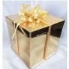 Короб картонный золотой для торта (250х250х170) до 5кг
