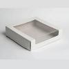 Короб торт с окном для транспортировки (225х225х100)