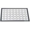 51578 Коврик силиконовый фибергласс с разметкой