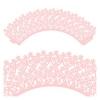 Кружево бумажное для кексов розовое