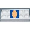 MONOP A002 Форма для пирожных «Овал»