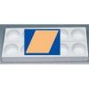 MONOP A006 Форма для пирожных «Ромб»