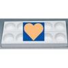 MONOP A007 Форма для пирожных «Сердце»
