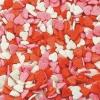 Посыпка «Сердечки красно-бело-розовые» (мини)