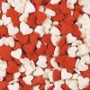 Посыпка «Сердечки красно-белые»