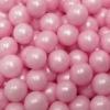 Сахарные шарики перламутровые (розовые)