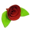 Сахарное украшение «Роза красная»