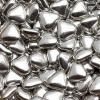 Шоколадные сердечки (золотые и серебряные) мини
