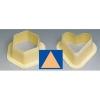 MONOP A004 Форма для пирожных «Треугольник»