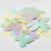 Вафельные бабочки одноцветные без рисунка