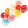 Вафельные розы большие микс