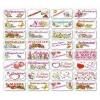 Вафельные визитки «8 Марта»