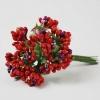 Застежки-цветы красные